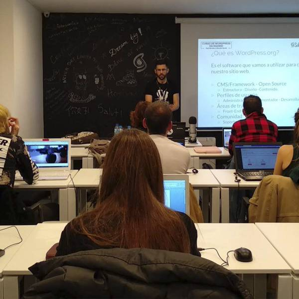 Curso de WordPress en Madrid