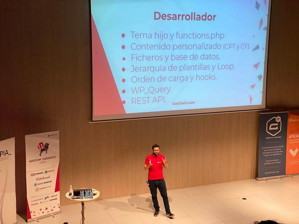WordCamp Zaragoza 2020 - Dani Serrano - Desarrollador