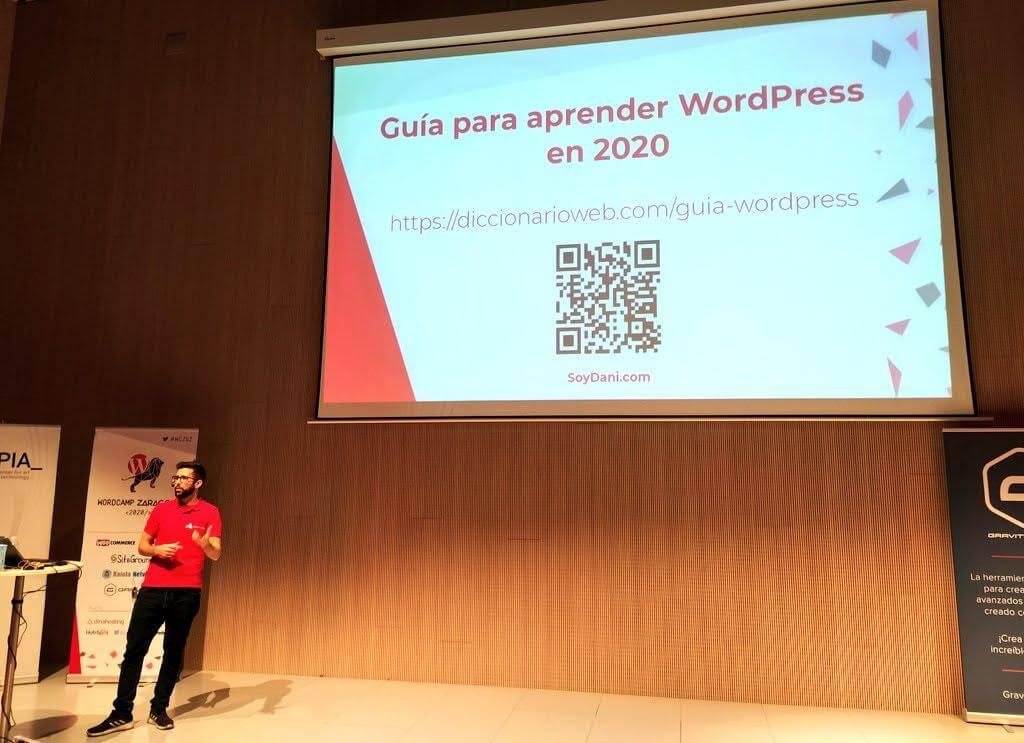 WordCamp Zaragoza 2020 - Dani Serrano - Guia para aprender WordPress